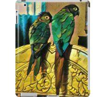 Roosting Conures iPad Case/Skin
