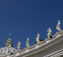 The Ones Overlooking Saint Peter's Square by Shantelle Williams