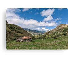 Andean Casa, Ecuador Canvas Print
