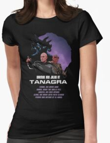 Darmok and Jalad at Tanagra Womens Fitted T-Shirt