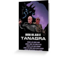 Darmok and Jalad at Tanagra Greeting Card