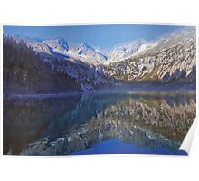 Upper Tauern Mountains Poster