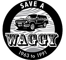 Save A Waggy Photographic Print