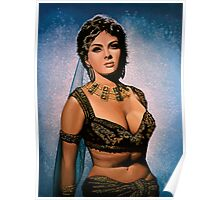 Gina Lollobrigida Painting Poster