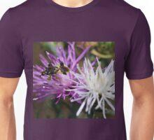 Ambush Bug on Knapweed Unisex T-Shirt