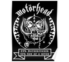 Motorhead (51/49) Poster