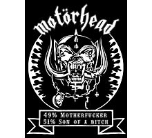 Motorhead (51/49) Photographic Print