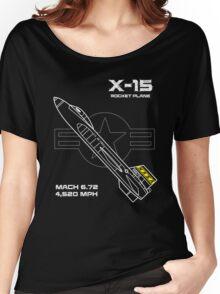 X-15 Rocket Plane Women's Relaxed Fit T-Shirt