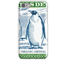 1948 Chile Emperor Penguin Postage Stamp iPhone Case/Skin