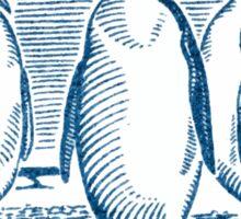 1948 Chile Emperor Penguin Postage Stamp Sticker