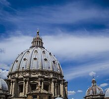 The Skies Above St. Peter's by Shantelle Williams