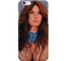 Gisele Bundchen Painting iPhone Case/Skin