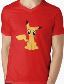 Pocket Pika-Pony Mens V-Neck T-Shirt