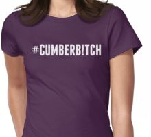 #Cumberb!tch Womens Fitted T-Shirt