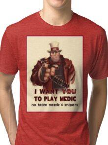 Uncle Heavy wants YOU Tri-blend T-Shirt