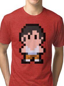 Pixel Chell Tri-blend T-Shirt