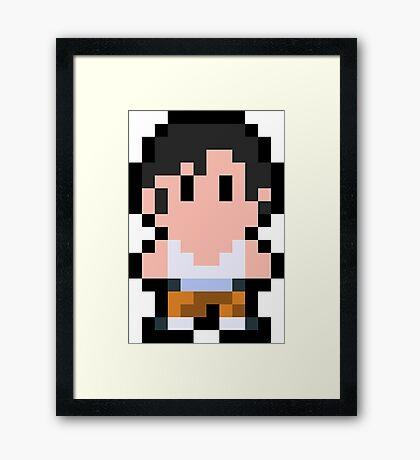 Pixel Chell Framed Print