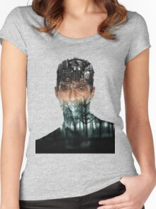 TRUE DETECTIVE Women's Fitted Scoop T-Shirt