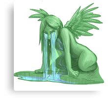 Weeping Angel (not from Dr. Who though) Canvas Print