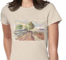 Winter in Tarlton Womens Fitted T-Shirt