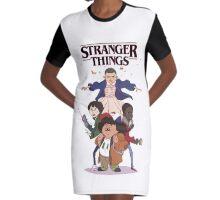 stranger things - netflix tv series Graphic T-Shirt Dress