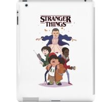 stranger things - netflix tv series iPad Case/Skin