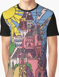 Enchanted Castle Graphic T-Shirt