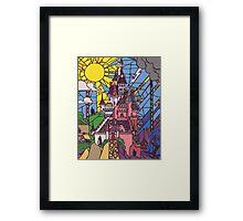 Enchanted Castle Framed Print