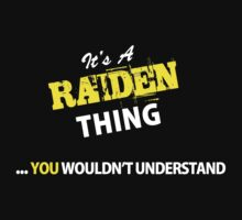 It's A RAIDEN thing, you wouldn't understand !! by satro