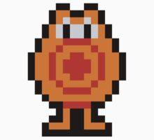 Pixel Q*Bert One Piece - Short Sleeve