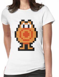 Pixel Q*Bert Womens Fitted T-Shirt