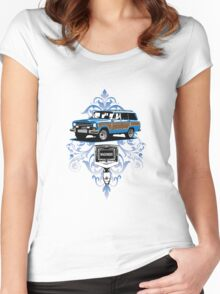 Grand Wagoneer Vintage T-shirt  Women's Fitted Scoop T-Shirt
