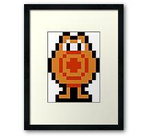 Pixel Q*Bert Framed Print