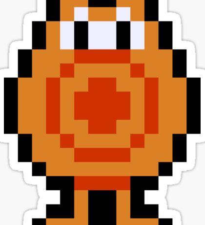 Pixel Q*Bert Sticker