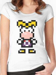 Pixel Rayman Women's Fitted Scoop T-Shirt