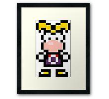Pixel Rayman Framed Print