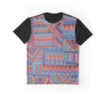 Bohemian Quilt Graphic T-Shirt