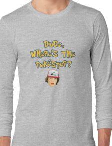 Pokemon Go Inspired Movie Reference Long Sleeve T-Shirt
