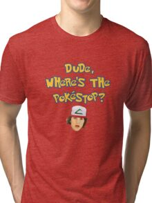 Pokemon Go Inspired Movie Reference Tri-blend T-Shirt