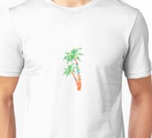 Palm Tree in Lilly Pulitzer Print Unisex T-Shirt
