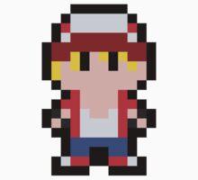 Pixel Terry Bogard Kids Tee