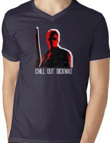 Chill...  Mens V-Neck T-Shirt