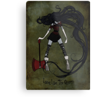 Queen of the Nightosphere Metal Print