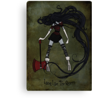Queen of the Nightosphere Canvas Print