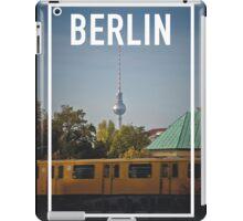 BERLIN FRAME iPad Case/Skin