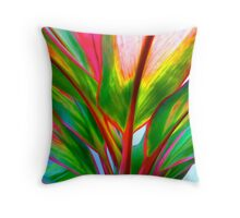 Ti Leaf Series #4 Throw Pillow