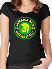 JAMAICA SKA 1969 Women's Fitted Scoop T-Shirt