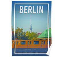 BERLIN FRAME Poster