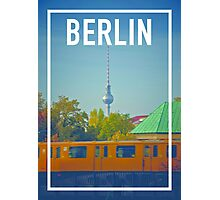 BERLIN FRAME Photographic Print