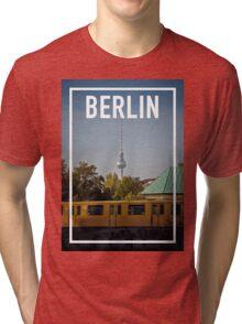 BERLIN FRAME Tri-blend T-Shirt